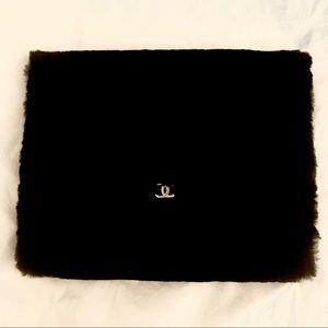 Genuine Rabbit Fur Chanel iPad Case 🖤